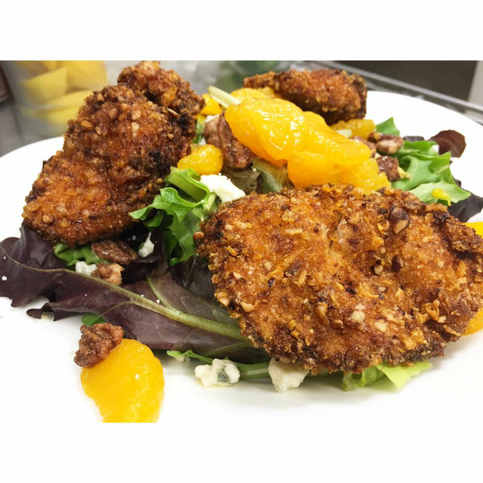 PECAN ENCRUSTED CHICKEN SALAD